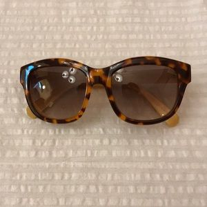 Anthropologie Tortoiseshell sunglasses